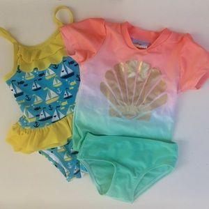‼️SALE‼️ Baby Bathing Suit Bundle